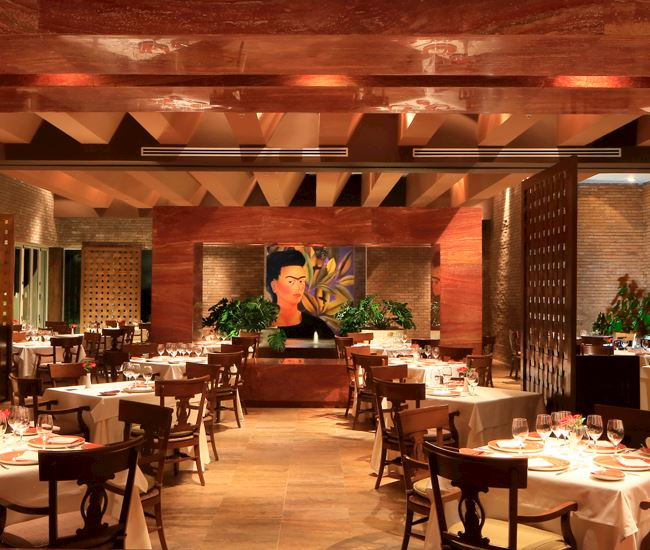 Frida Restaurant in Grand Velas Riviera Maya