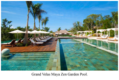 Zen Grand Ambience Pool in Grand Velas Riviera Maya