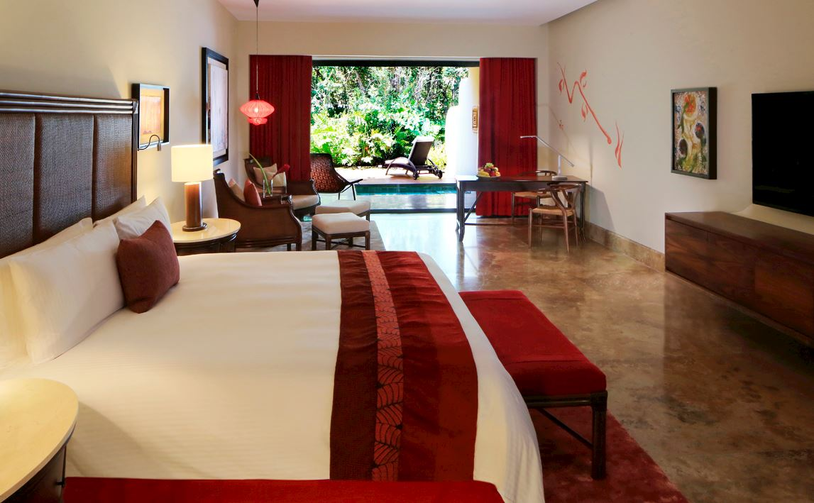 King Pool Suite Nature View Suite in Grand Velas Riviera Maya